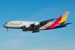 Asiana Airlines Airbus A380 HL7625