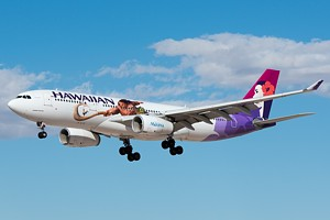 Hawaiian Air Airbus A330-200 N390HA