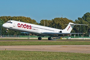Andes Lineas Aereas McDonnell Douglas MD-83 LV-WGM