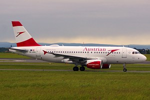 Austrian Airlines Airbus A319 OE-LDG