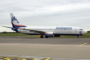 SunExpress Boeing 737-800 TC-SEN