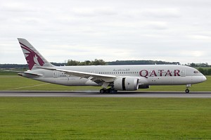Qatar Airways Boeing 787-8 A7-BCB