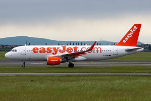EasyJet Airline Airbus A320 G-EZWW
