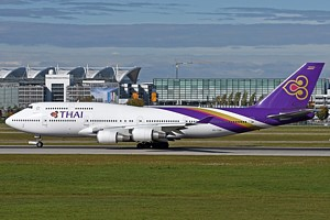 Thai Airways Boeing 747-400 HS-TGA