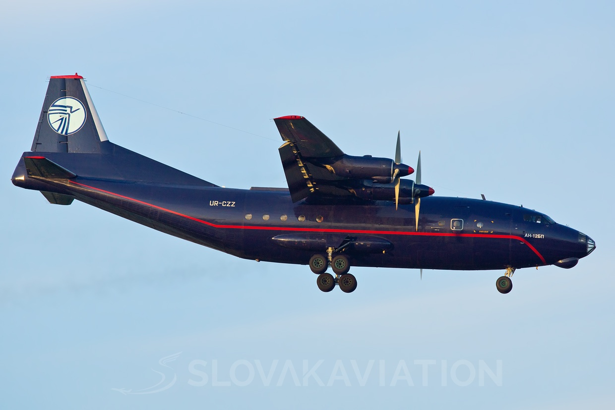 Ukraine Air Alliance AN-12 UR-CZZ