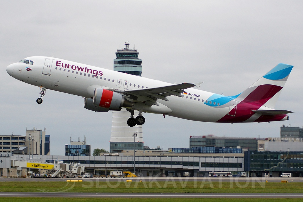 Eurowings Airbus A320 D-ABNE