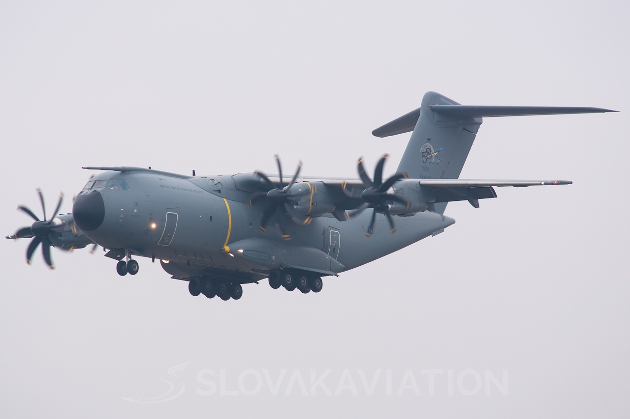 Malaysia - Air Force Airbus A400M M54-01