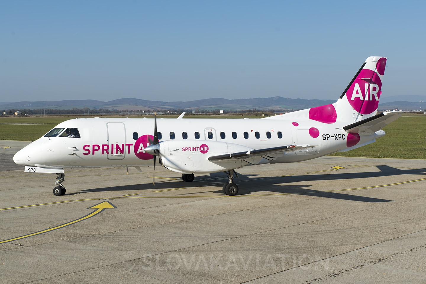 Sprint Air Saab 340 SP-KPC
