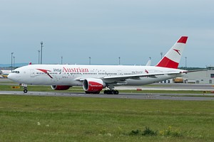 Austrian Airlines Boeing 777-200 OE-LPD