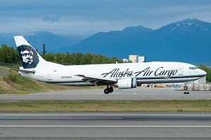 Alaska Airlines Boeing 737-400 N709AS