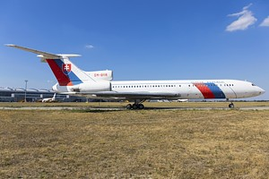 Slovak Government Flying Service Tupolev Tu-154 OM-BYR