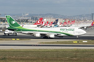 Iraqi Airways Boeing 747-400 YI-ASA