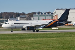 Titan Airways Airbus A320 G-POWM