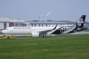 Air New Zealand Airbus A321 D-AVZF
