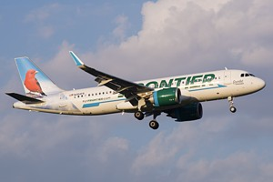 Frontier Airlines Airbus A320 N354FR