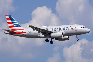 American Airlines Airbus A319 N810AW