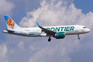 Frontier Airlines Airbus A320 N343FR