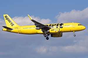 Spirit Airlines Airbus A320 N694NK