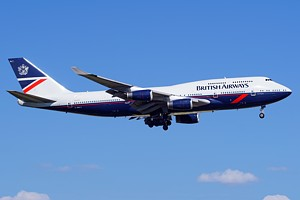 British Airways Boeing 747-400 G-BNLY
