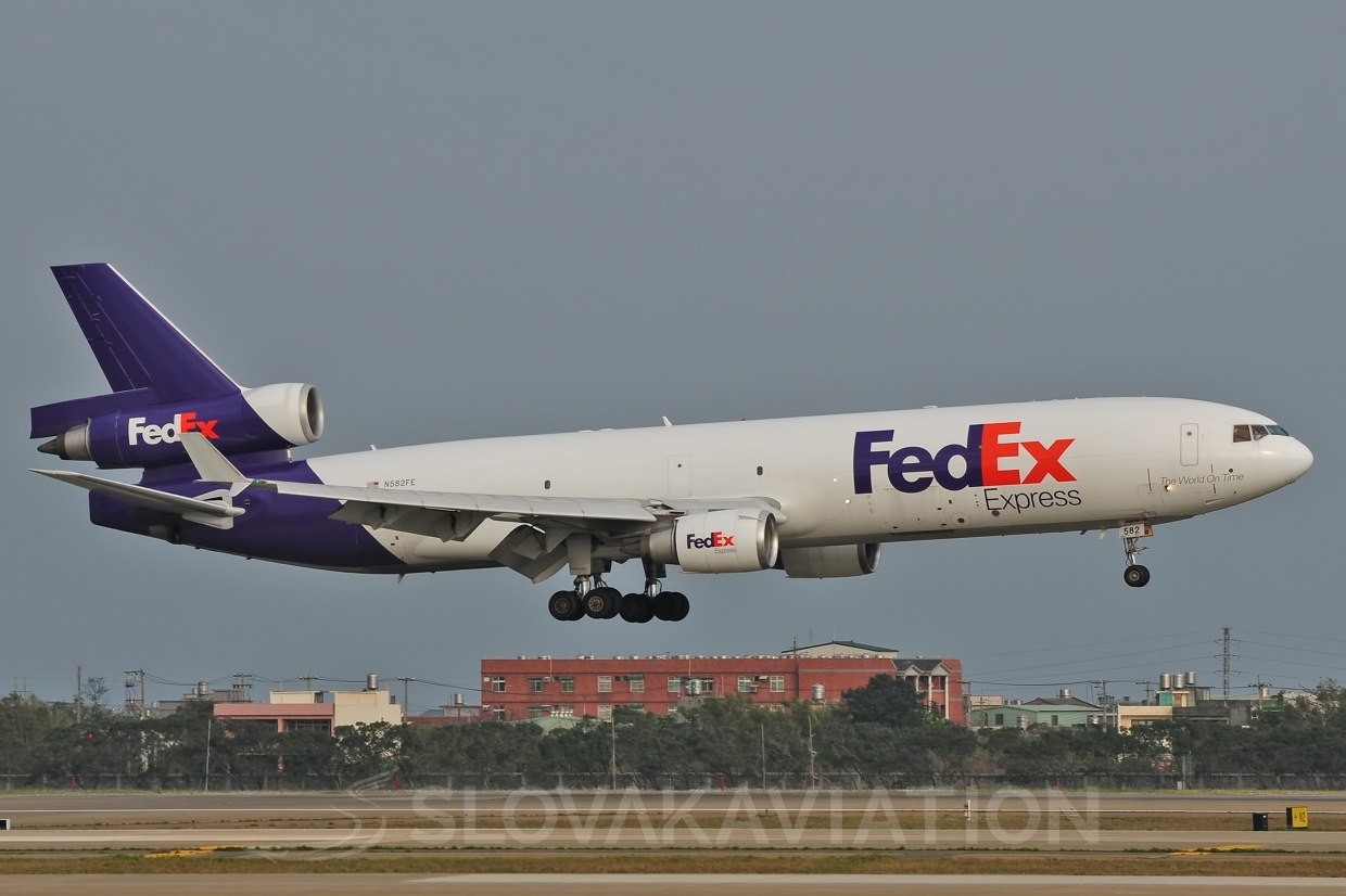 MD11F FedEx Express N582FE