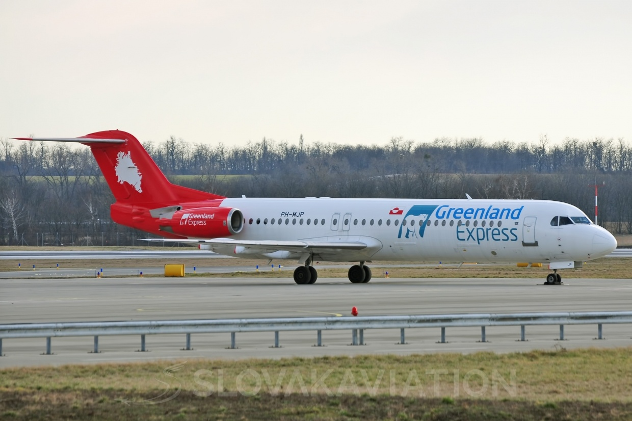 F100 Greenland Express PH-MJP