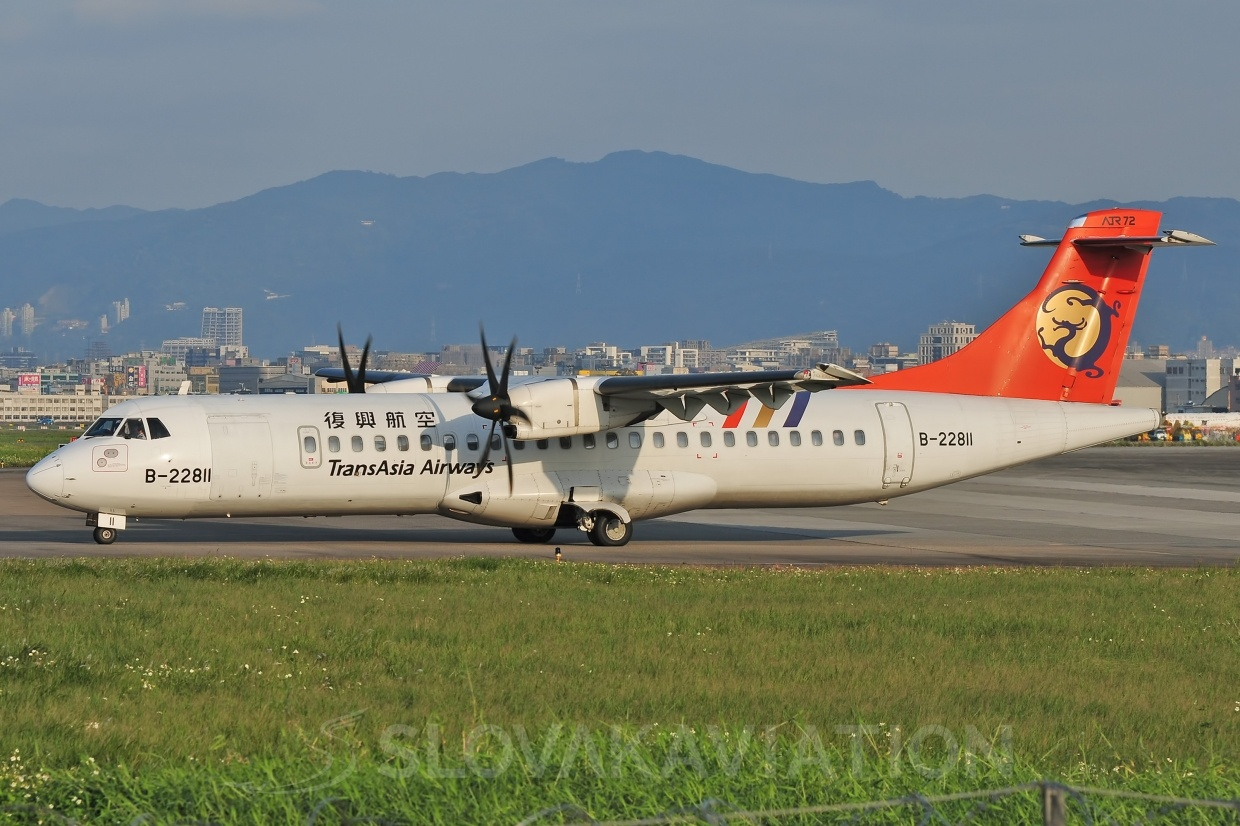 ATR72 TransAsia Airways B-22811