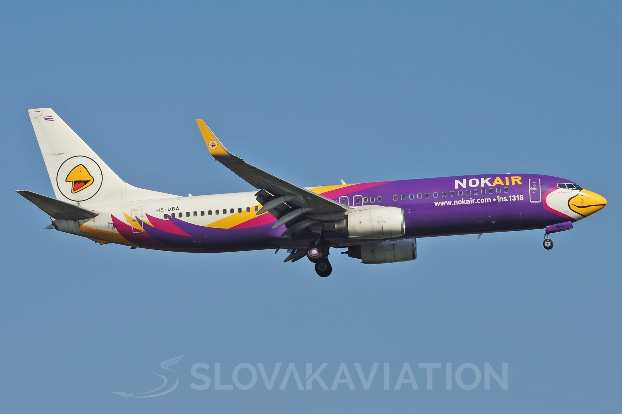B737-800 Nok Air HS-DBA