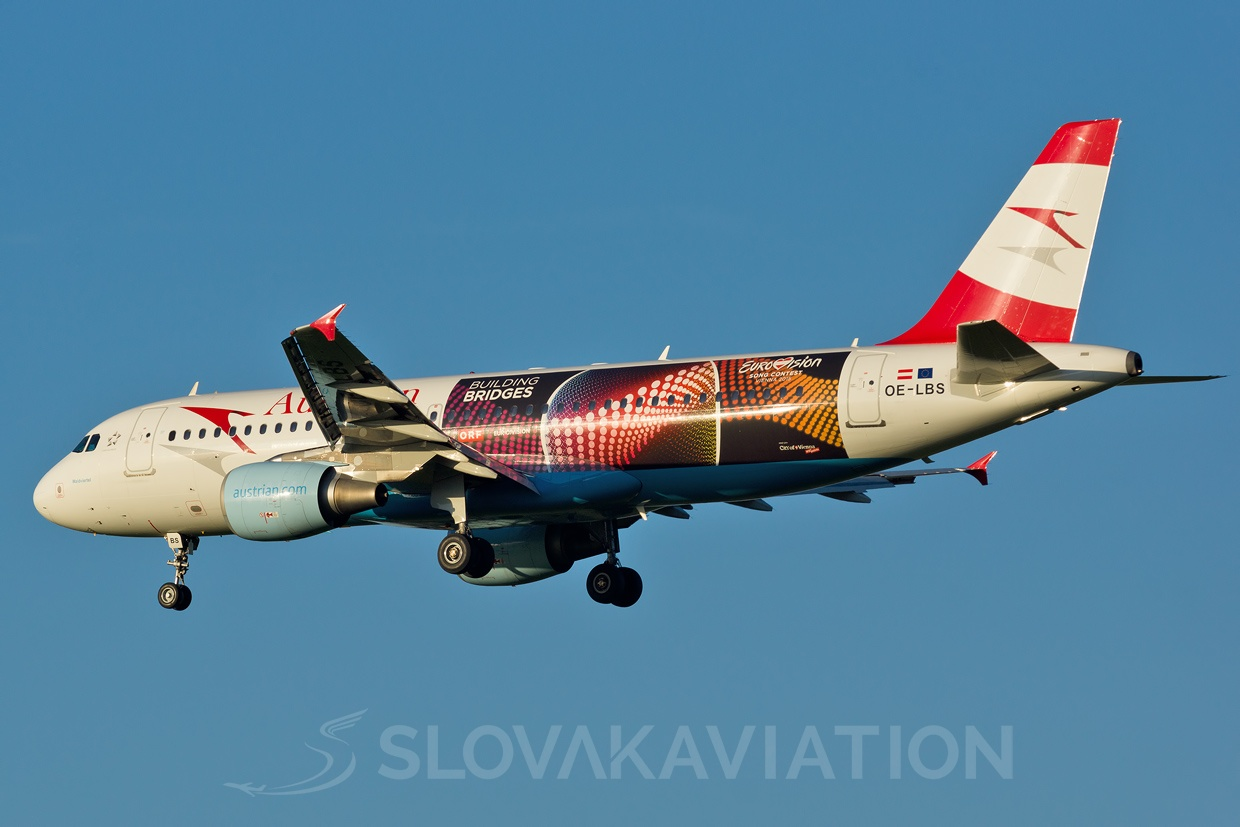 Austrian Airlines A320 OE-LBS