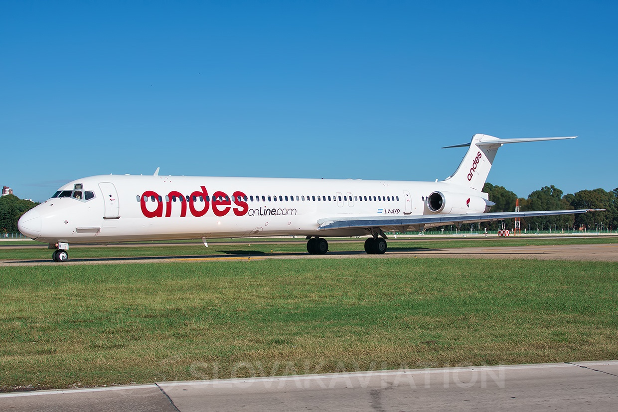 Andes Lineas Aereas McDonnell Douglas MD-83 LV-AYD