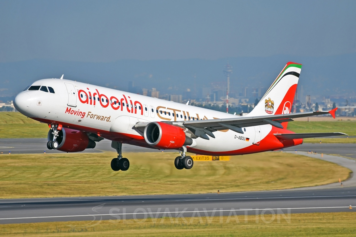 Air Berlin Airbus A320 D-ABDU