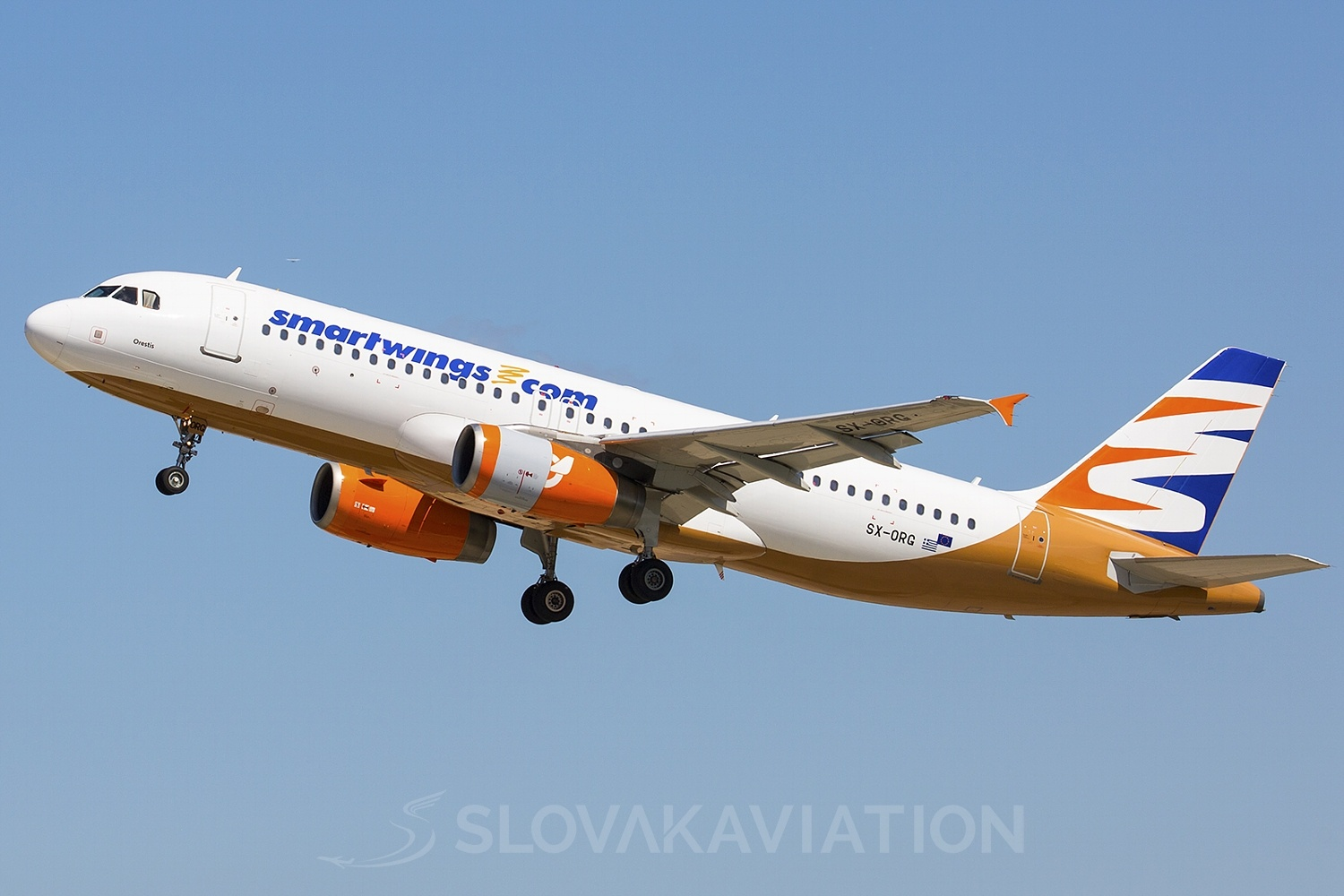Smart Wings Airbus A320 SX-ORG