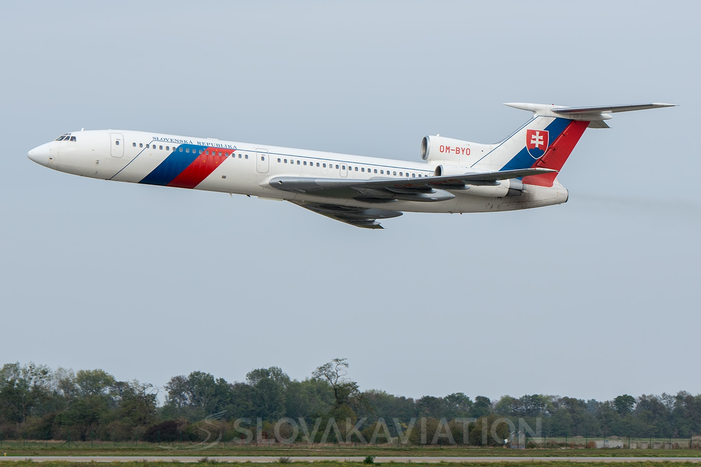 Slovak Government Flying Service Tupolev Tu-154 OM-BYO