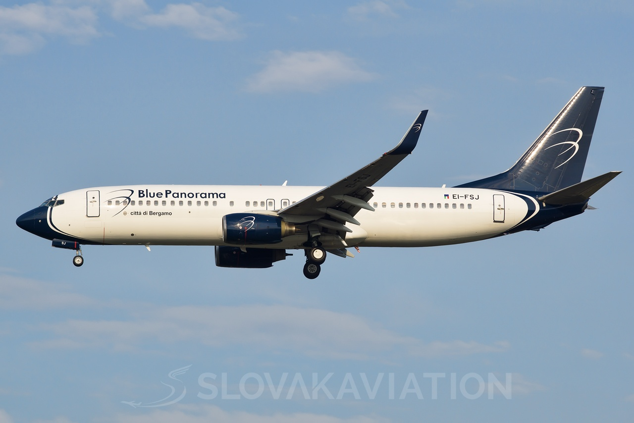 Blue Panorama Airlines Boeing 737-800 EI-FSJ