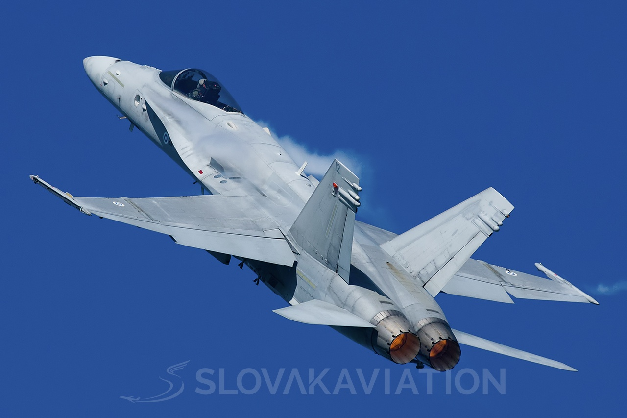 Finland - Air Force Boeing F/A-18 Hornet 12