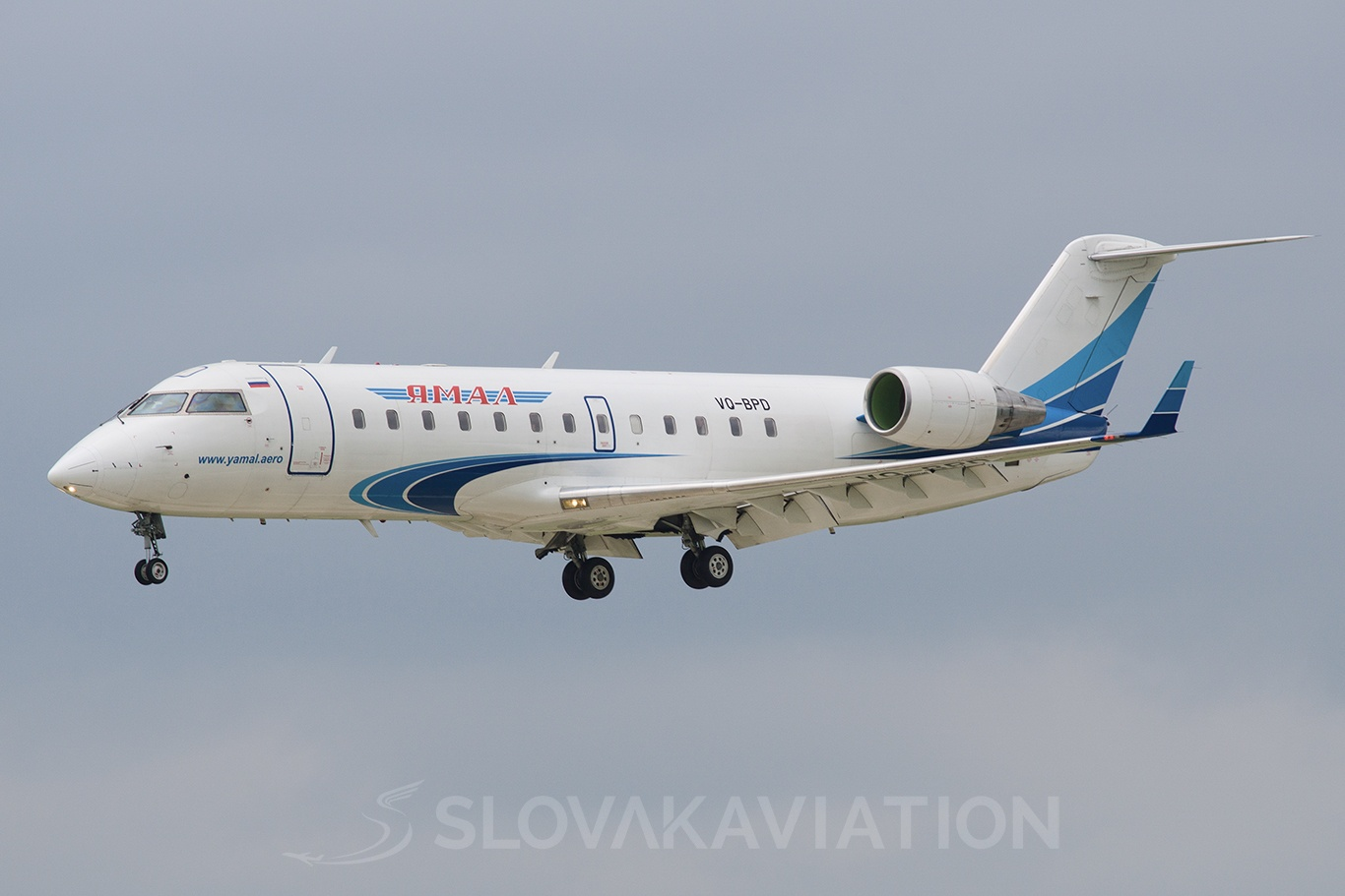 Yamal Airlines Canadair CL-600 Regional Jet CRJ-200 VQ-BPD