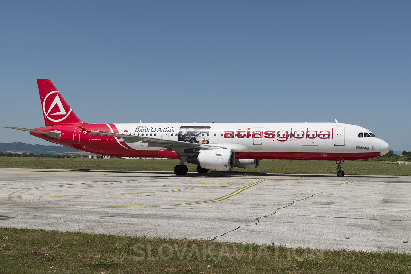 AtlasGlobal Airbus A321 TC-ATF
