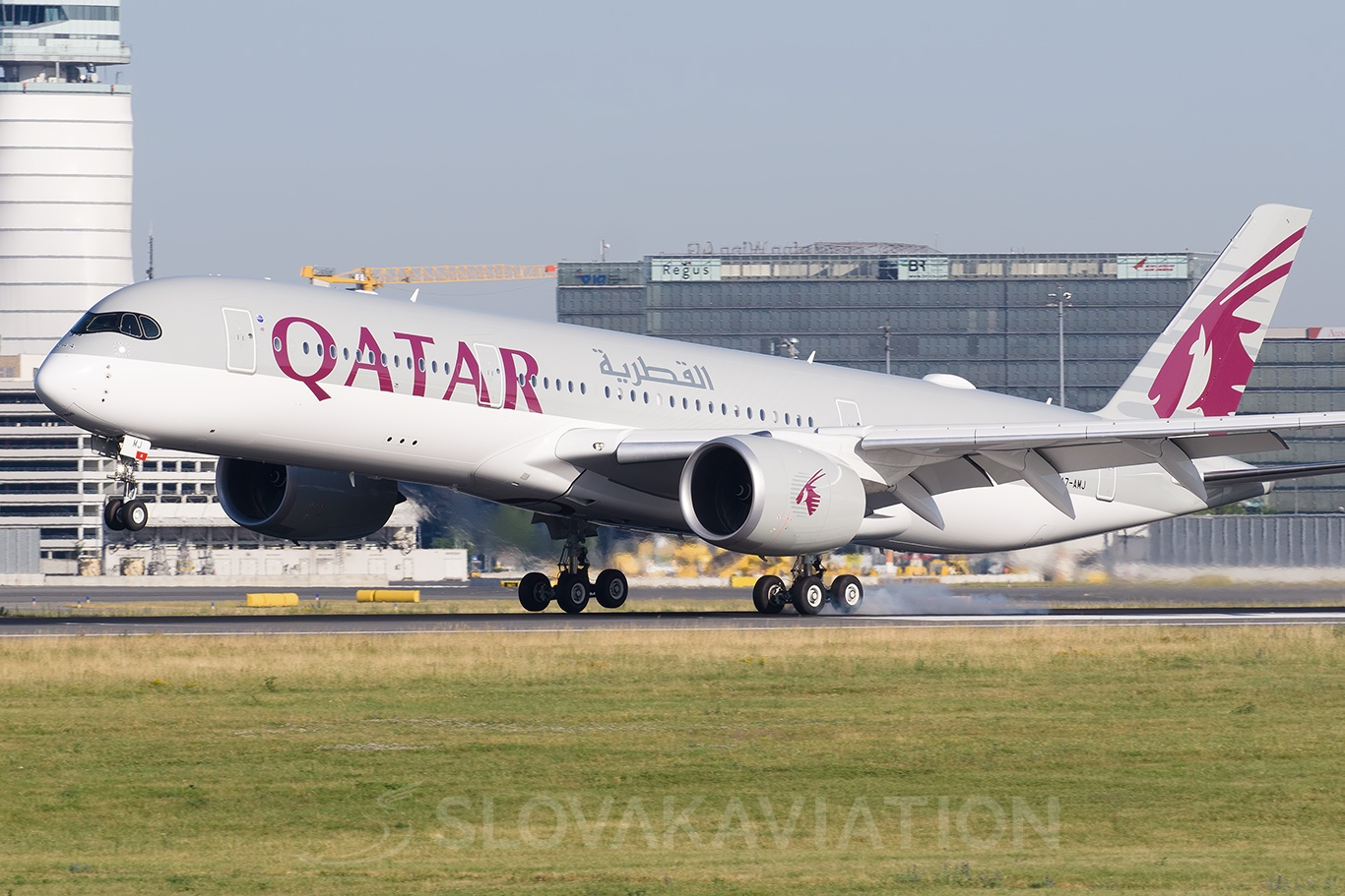Qatar Airways Airbus A350 A7-AMJ