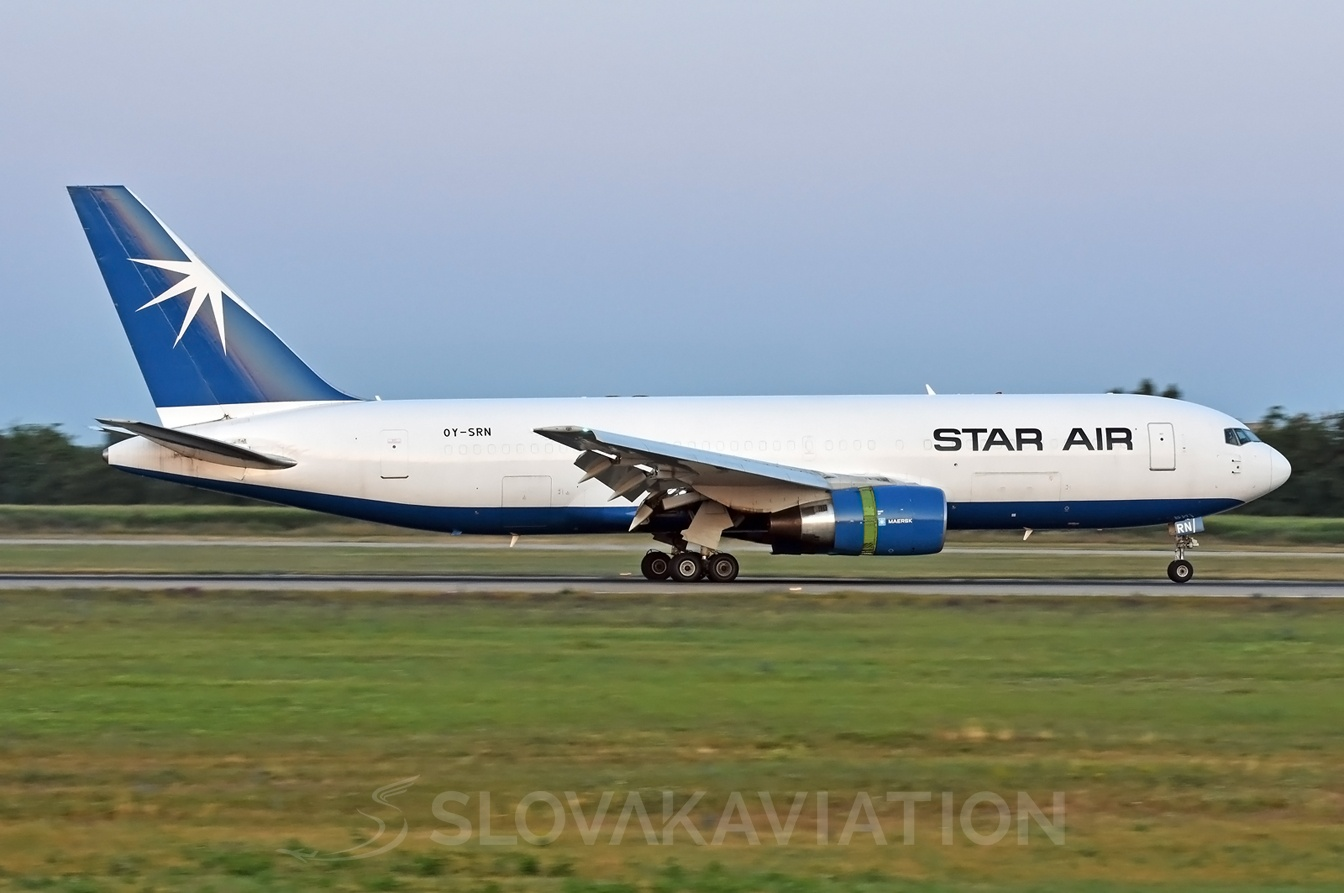 Star Air Boeing 767-200 OY-SRN