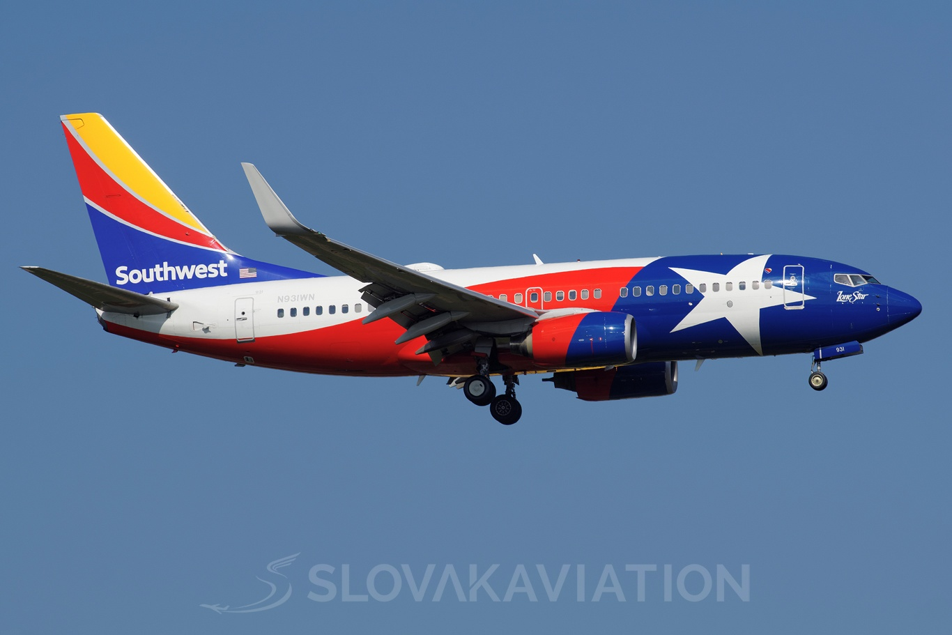 Southwest Airlines Boeing 737-700 N931WN