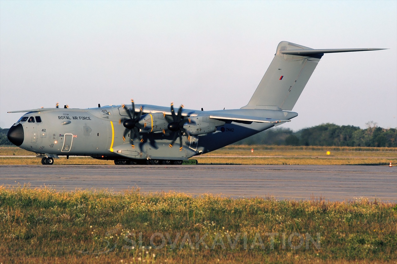 UK - Air Force Airbus A400M ZM412