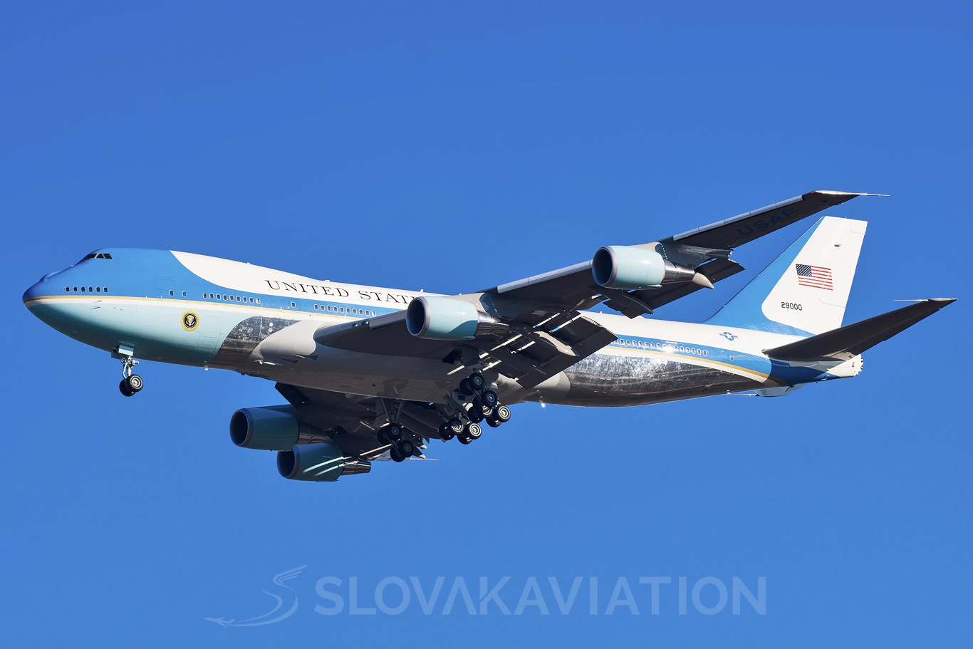 USA - Air Force Boeing 747-200 29000