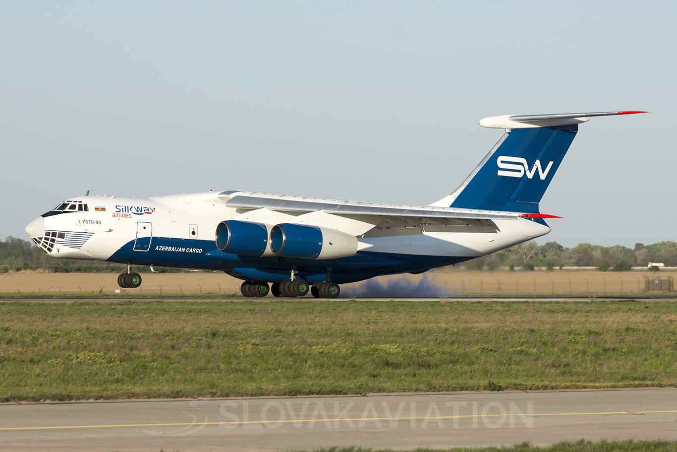 Silk Way Airlines Ilyushin Il-76 4K-AZ101