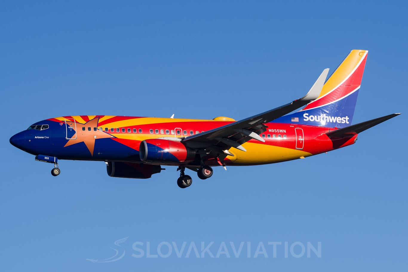 Southwest Airlines Boeing 737-700 N955WN