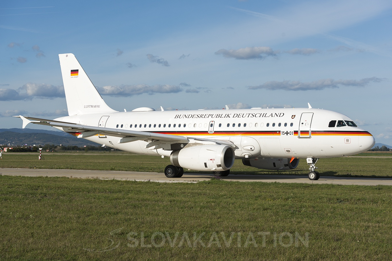 Germany - Air Force Airbus A319 15-01