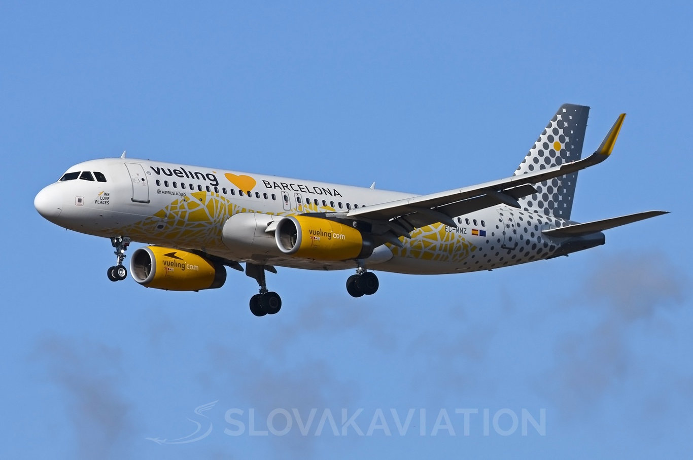 Vueling Airlines Airbus A320 EC-MNZ