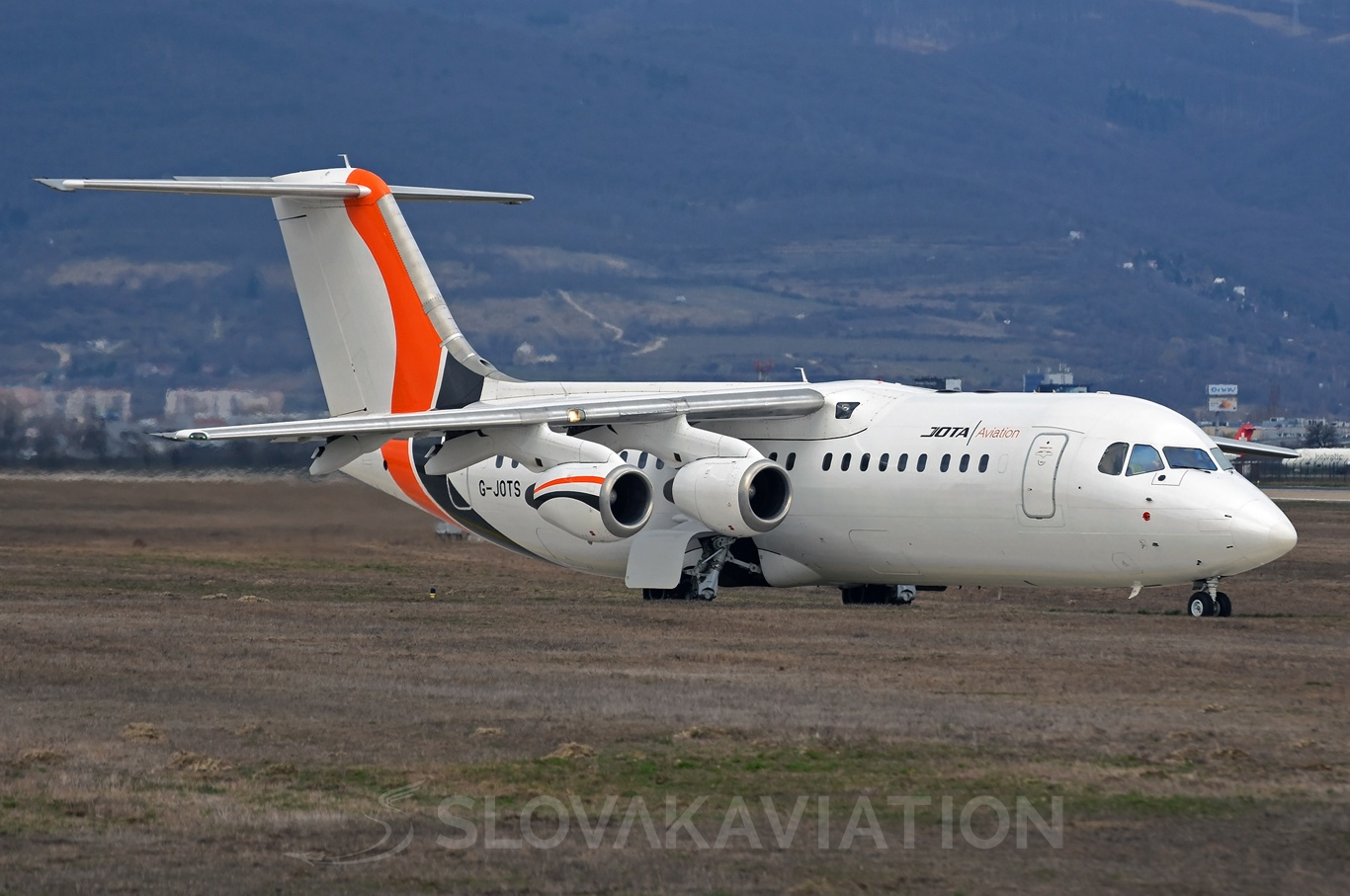 JOTA Aviation BAE Systems Avro RJ85 G-JOTS