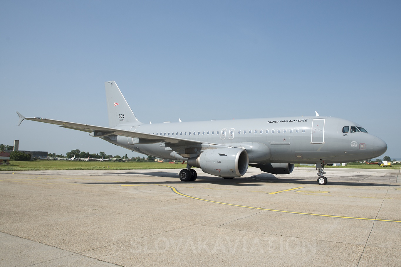 Hungary - Air Force Airbus A319 605