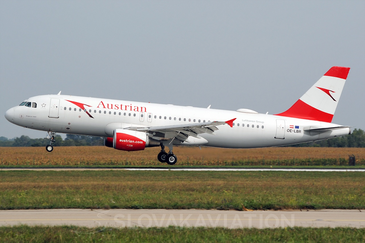 Austrian Airlines Airbus A320 OE-LBR