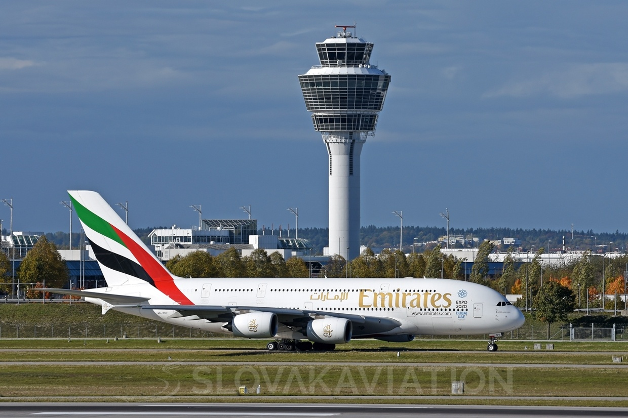 Emirates Airbus A380 A6-EDV