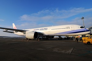 A350 pre China Airlines